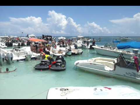 The Sand Bar 2012 Florida Keys Youtube