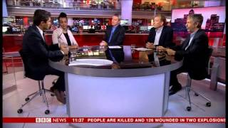 BBC debate: Massacre in Ankara, Turkey, NATO-Russia-Syria,  Conservative Party,  FIFA - Guney Yildiz