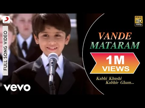 Usha Uthup, Kavita Krishnamurthy - Vande Mataram (Full Song Video)