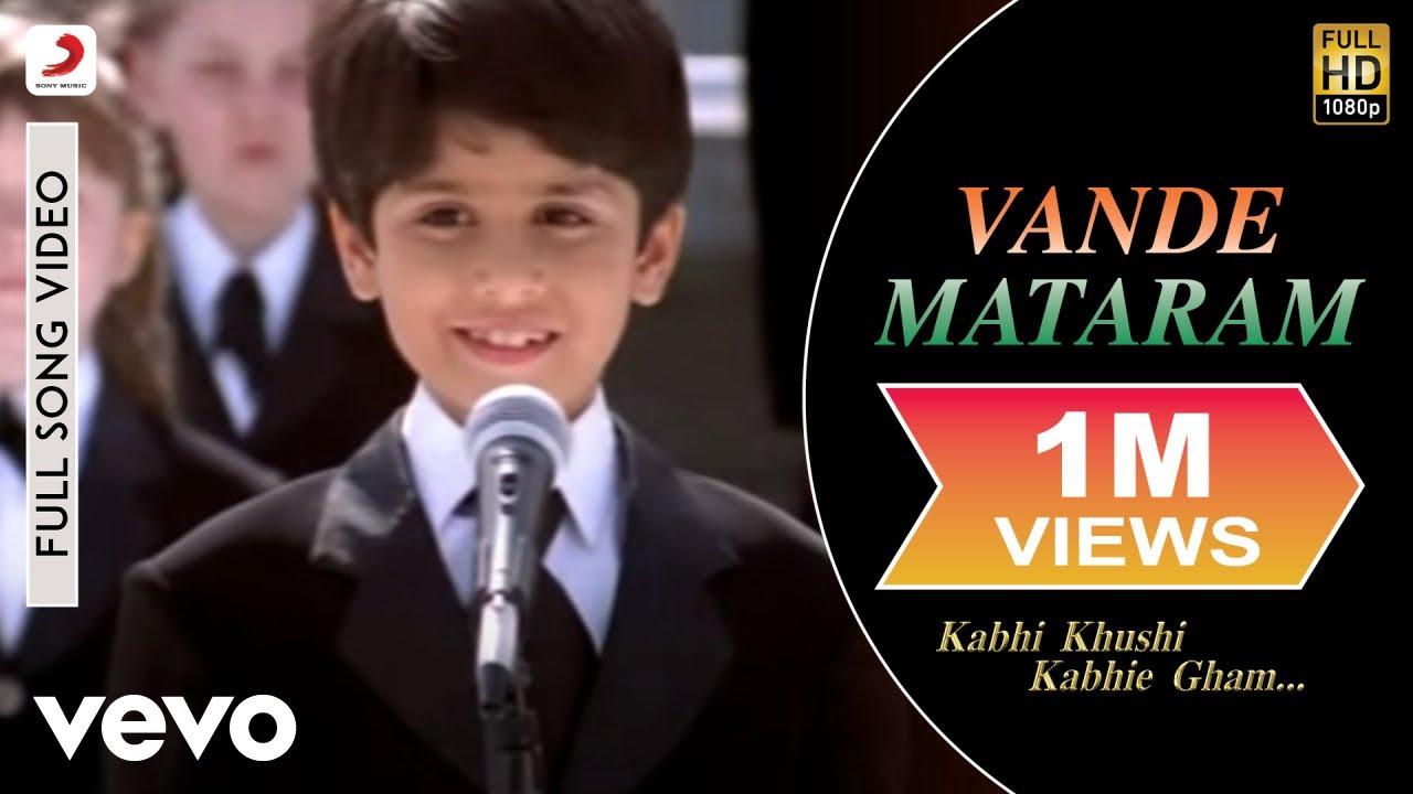 vande matram kabhi khushi kabhi gham mp3