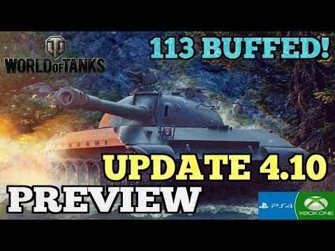 UPDATE 4.10 PREVIEW || Maps & Buffs || World Of Tanks: Mercenaries