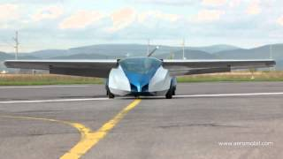 AeroMobil FLYING CAR unveiled in Slovakia