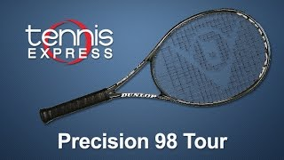 DUNLOP Precision 98 Tour Tennis Racquet Review   Tennis Express