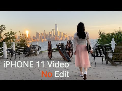 【Hoboken】 4K Shot On IPhone 11 Cinematic No Color Grade No Luts Completely Raw!