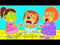 Who Is the Best Mommy. Good Behavior for Kids | Lion Family | Cartoon for Kids