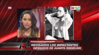 ¡INFARTANTE! Los osados desnudos de Juanita Ringeling
