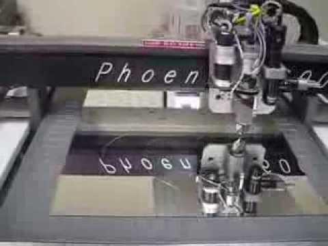 glass scribing machine