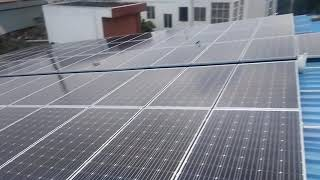 Execution of New tin shed and 30 KW solar power plant project