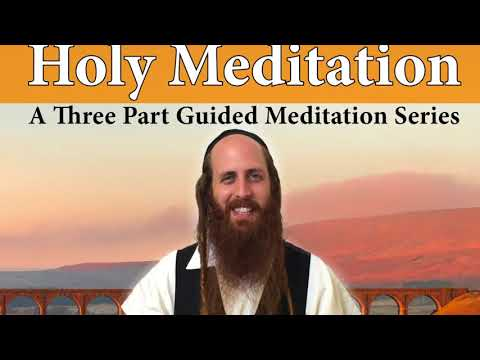 Welcome to HOLY MEDITATION - a class by Rav Dror in Manhattan - July 2018