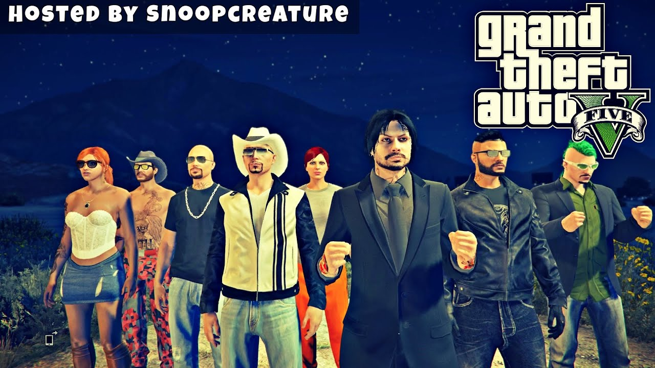 GTA 5 - 70 000 SUBS HYPE - Hosted by SnoopCreature (GTA Online Live Stream)
