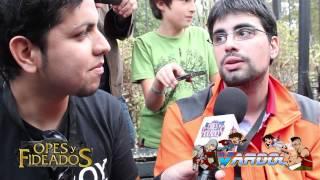 Opes & Fideados: Entrevista Xoda y Vardoc Coliseo Liga Samsung