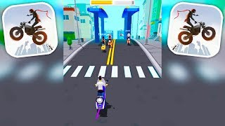 Crazy Rider - Motorcycle Racing Endless Runner Game - Android Gameplay