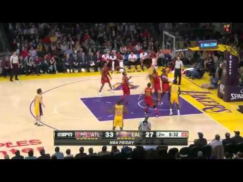 Atlanta Hawks win over LA Lakers    March 4, 2016   NBA 2015 16 Season