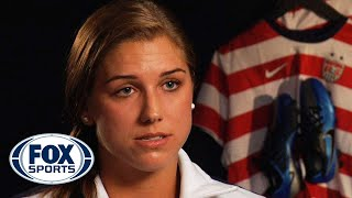 Alex Morgan and Abby Wambach discuss working out