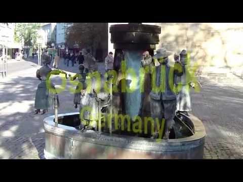 Osnabrück Germany overview video.