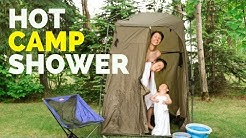 Our Portable Shower for Camping: Hot H20 Solution for Less Than $40
