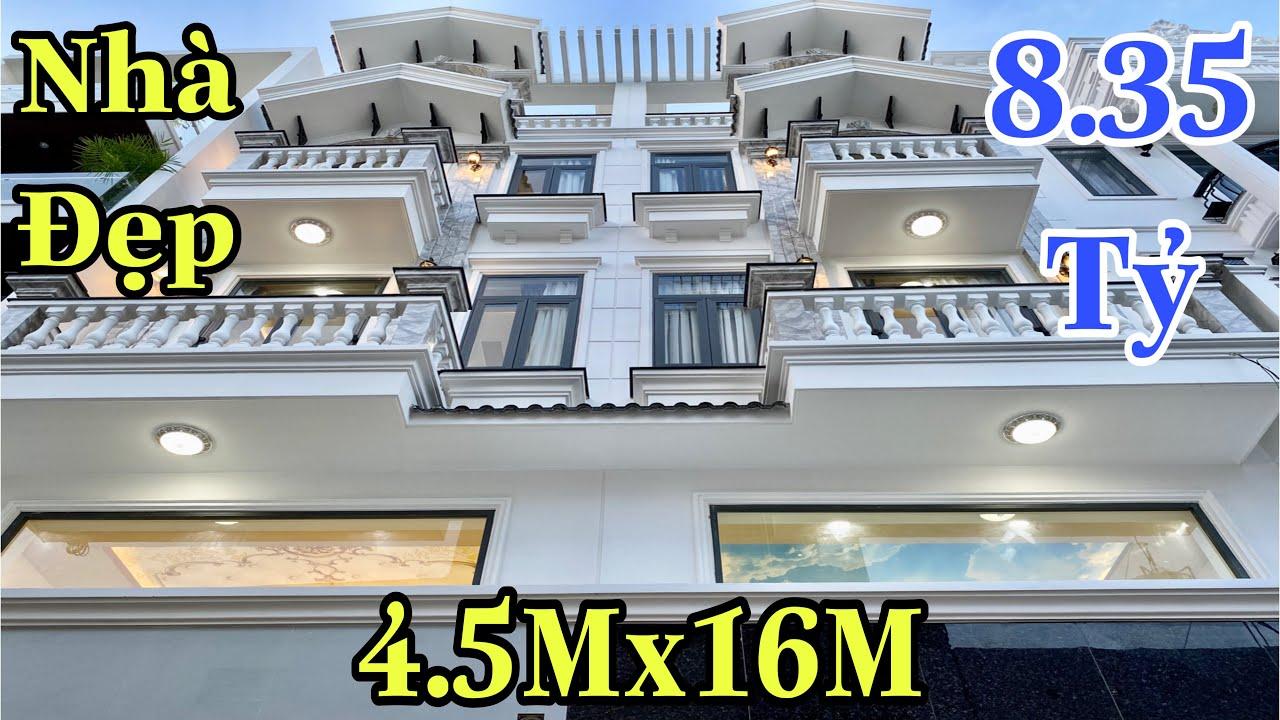 Bán nhà Gò Vấp| Cặp nhà Thống Nhất đẹp từng chi tiết làm ĐIÊN ĐẢO người xem| giá rẻ 8.35 tỷ