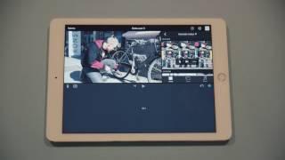 iMovie-opetusvideo - Materiaalin lisääminen aikajanalle
