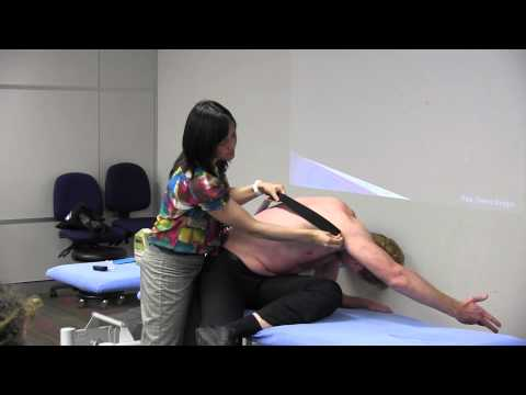 Kinesio Taping for shoulder / unstable scapular