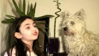 "Cristina recita "" Zdreanta "" de Tudor Arghezi"