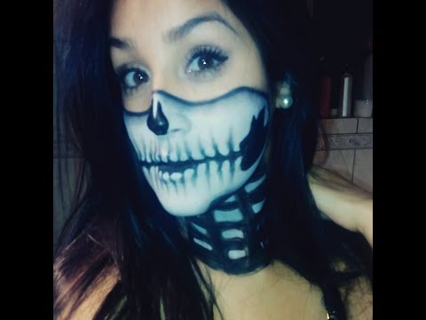 Tutorial Maquillaje Calavera Fácil Youtube