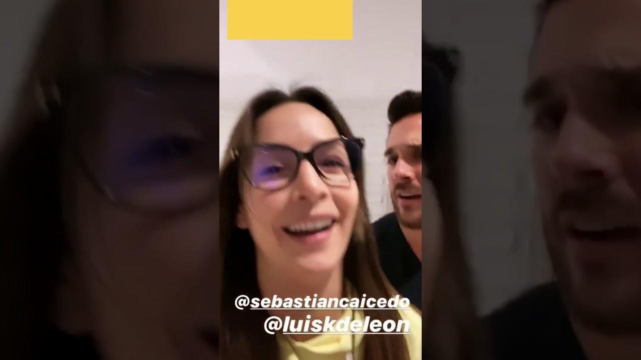 La reacción de Sebastián Caicedo ante el beso de Cata con el Titi