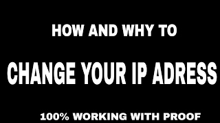 simplest way to change your ip address in windows pc