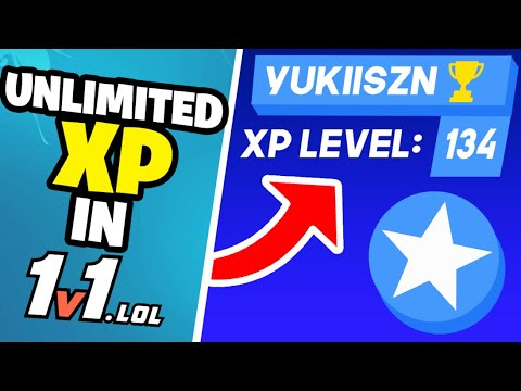 How To Get *UNLIMITED* XP In 1V1.LOL ALL PLATFORMS New Tips And Tricks To LEVEL UP FAST !