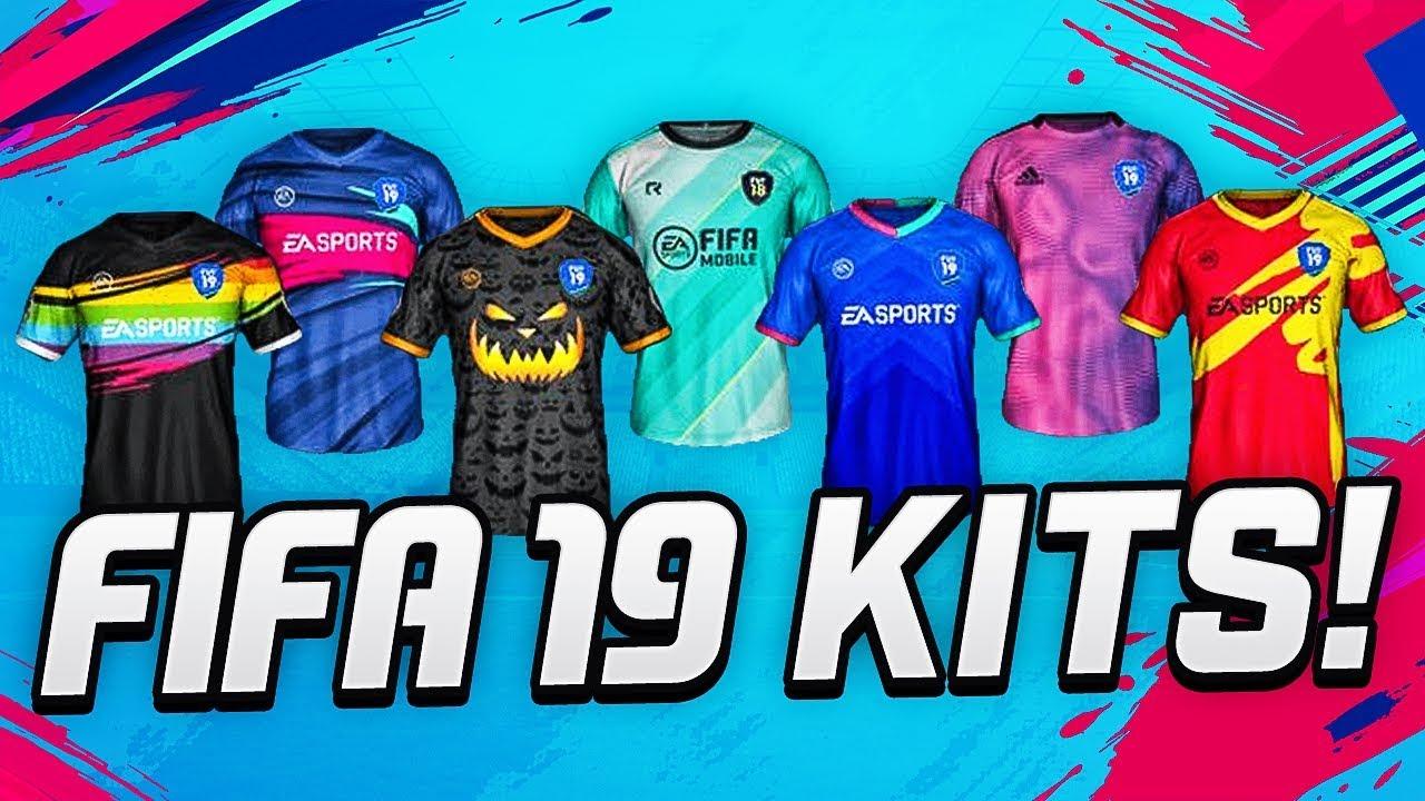 921bfbfe6 FIFA 19 NEW KITS   PACKS (57 KITS) - YouTube