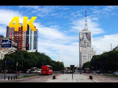 "#065 ""Buenos Aires, Argentina"" in 4K (ブエノスアイレス/アルゼンチン)世界一周27カ国目"