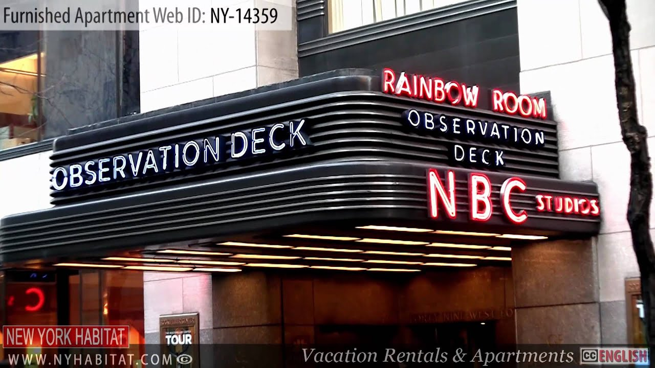 new york city video tour of a furnished apartment on 52nd street