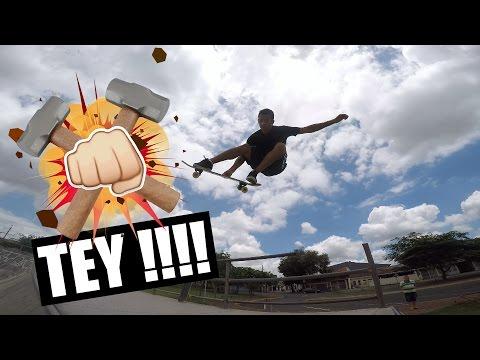 TEY Skateboard  Voadores do JPMF