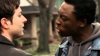 The Sopranos: AJ and friends beat up black guy