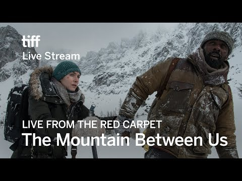 THE MOUNTAIN BETWEEN US Live From The Red Carpet   TIFF 17
