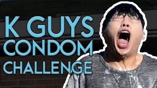 KOREAN GUYS CONDOM CHALLENGE!