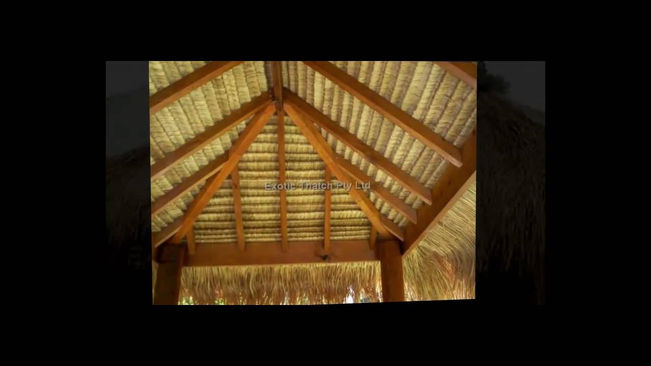 Bali Huts Sydney By Exotic Thatch  Bali Thatch Great For Backyard Gazebos .mp4