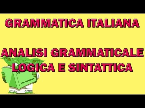Analisi Logicaиз YouTube · Длительность: 9 мин31 с