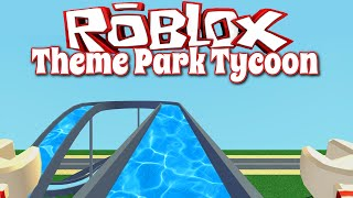 ROBLOX LET'S PLAY THEME PARK TYCOON 2 PT4 | RADIOJH GAMES
