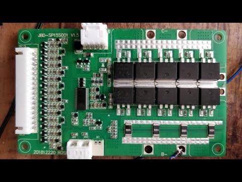 Восстановление Smart BMS с управлением через Bluetooth 13s60A. Перепрошивка микроконтроллера.