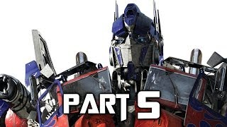 Transformers Rise of the Dark Spark Walkthrough Gameplay Part 5 - Sharpshot (PS4)