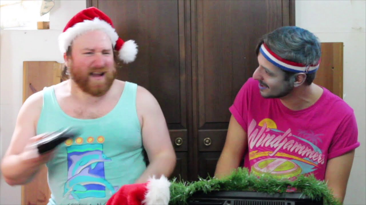 New Video! Santa Streams: Windjammers with Jack Frost