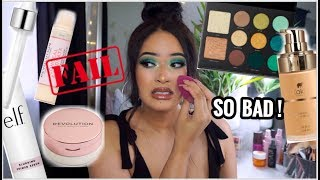 I TRIED NEW DRUGSTORE MAKEUP 2019: FULL FACE OF FIRST IMPRESSIONS FAIL! |Taisha