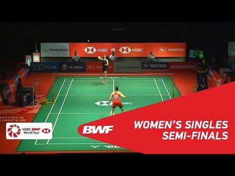 SF | WS | Carolina MARIN (ESP) [4] vs Saina NEHWAL (IND) [7] | BWF 2019