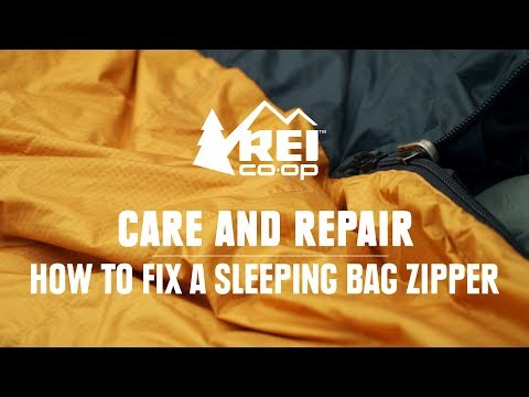 How to Fix a Sleeping Bag Zipper || REI