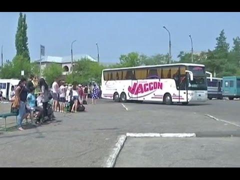 В Луганской области набирают популярность автобусные рейсы в Россию