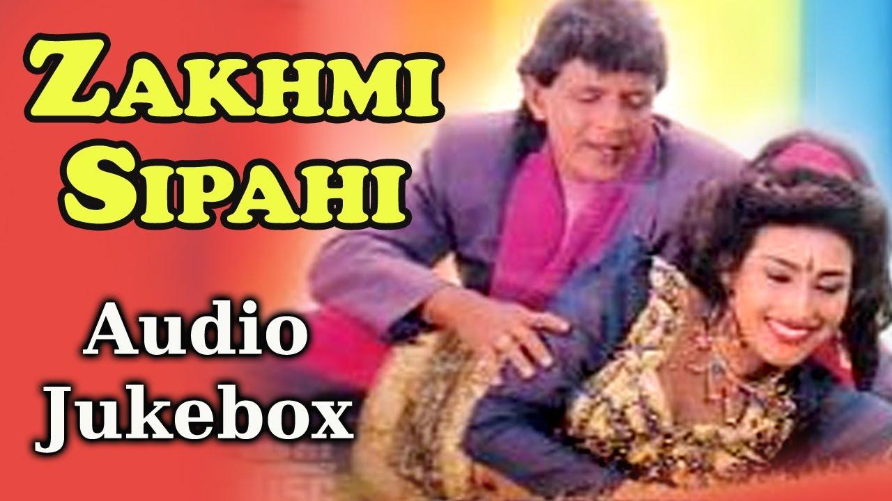 Zakhmi Sipahi Zakhmi Sipahi Juke Box Mithun Chakraborty Abhijeet Ila Arun