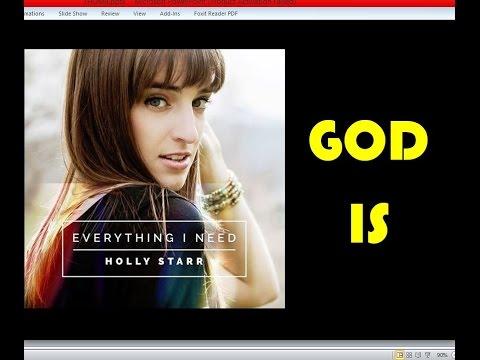 Holly Starr - God Is (Lyrics)