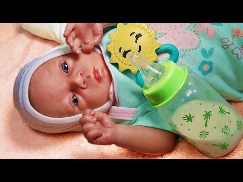 Пинетки крючком для куклы беби бон. Вяжем своими руками