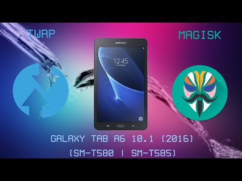 Custom Recovery (TWRP) + Root (Magisk) Tutorial | Samsung Galaxy Tab A6 10.1 (2016) | English thumbnail