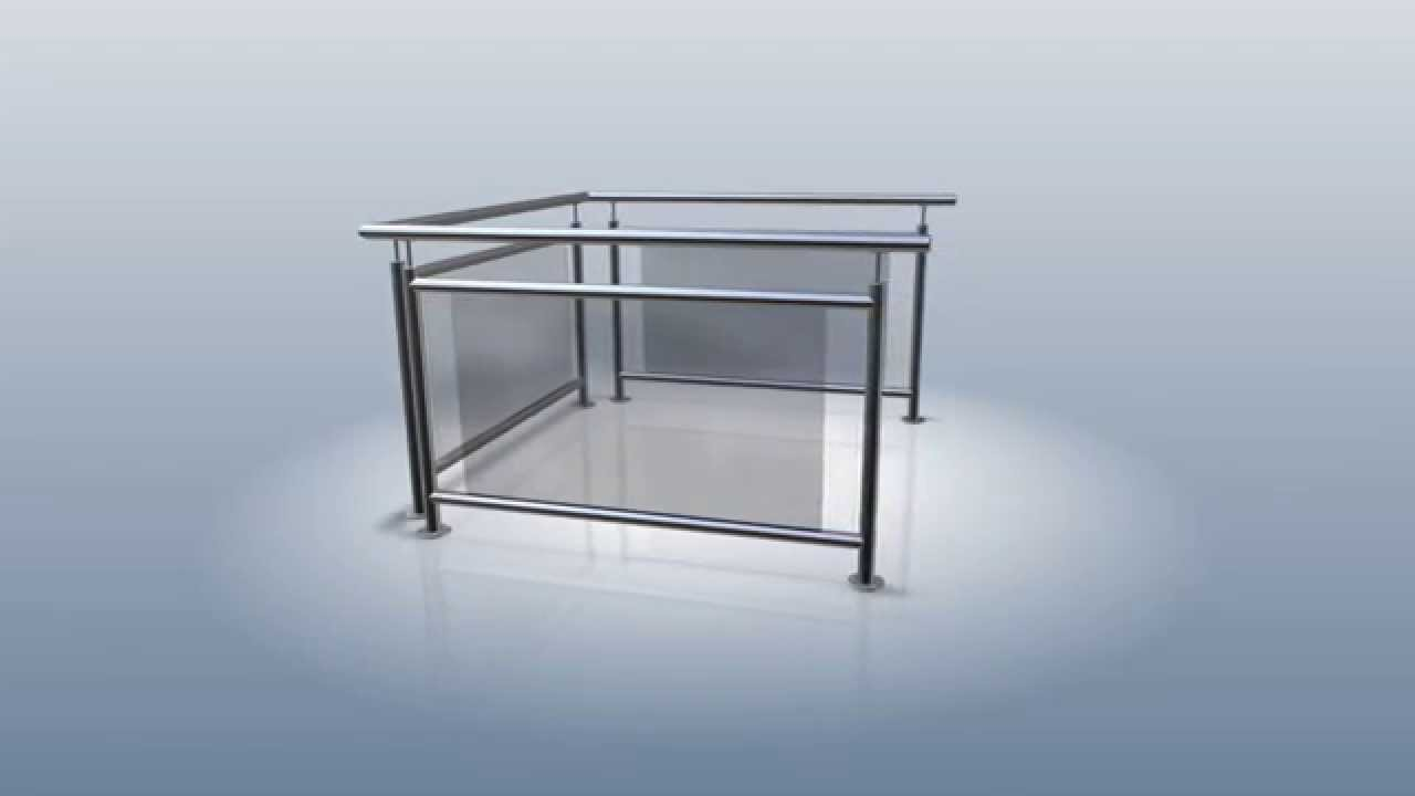 balkongel nder edelstahl hochwertig preiswert sch n mit. Black Bedroom Furniture Sets. Home Design Ideas